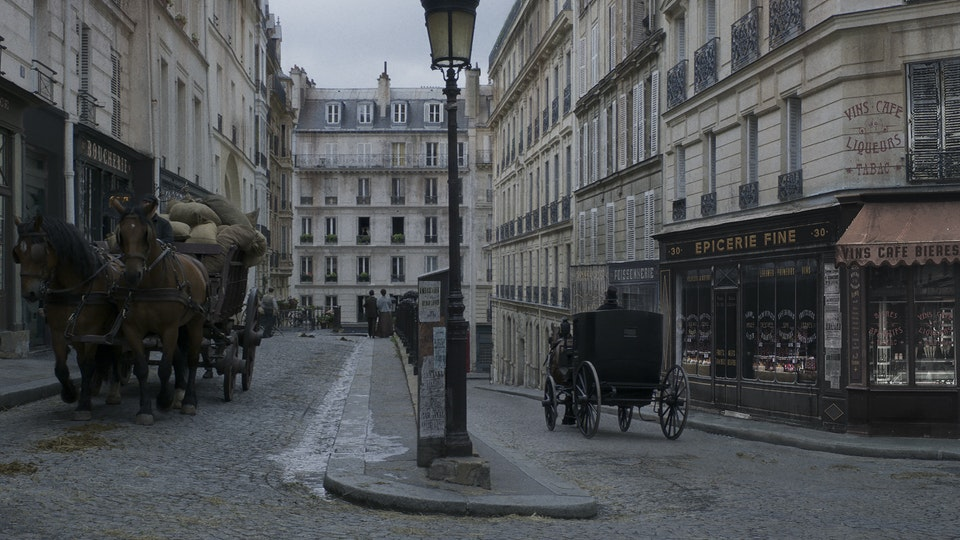 Colette - Digital Matte Painting