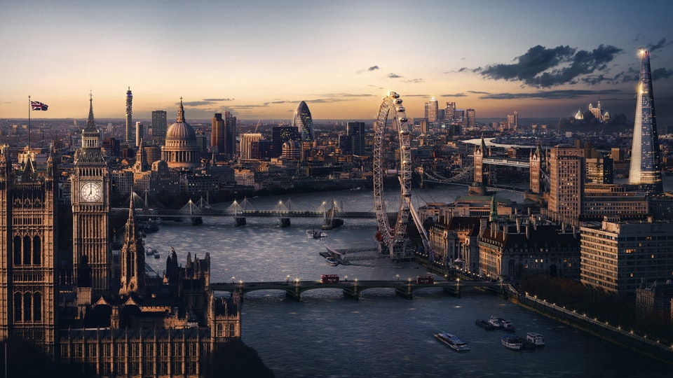 Burberry 'London in Los Angeles' - DMP Invitation at Print Resolution
