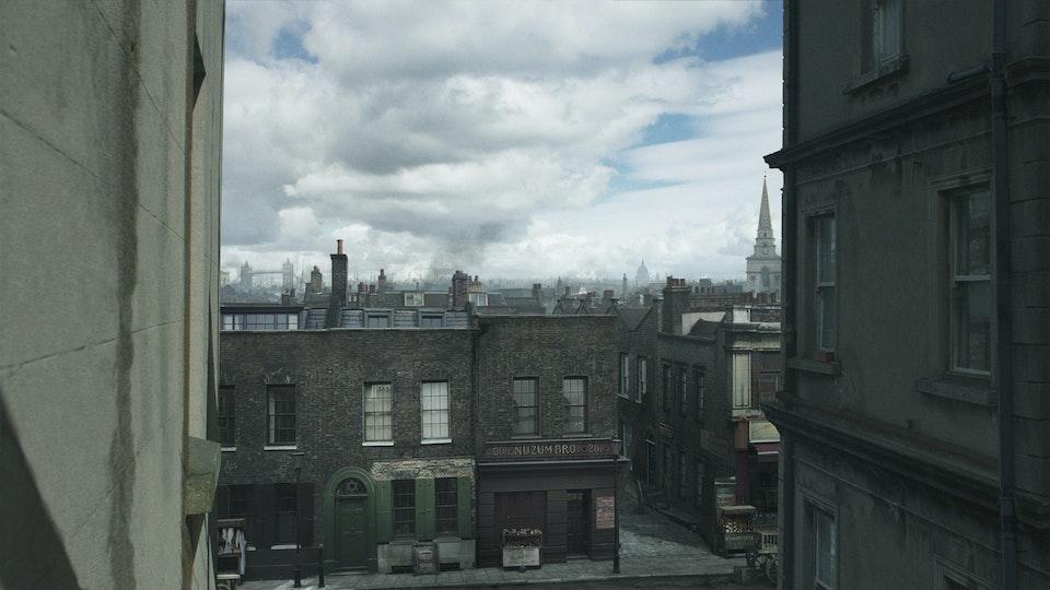 Ripper Street Series 4 & 5 - Digital Matte Painting 01 Lola Post Production