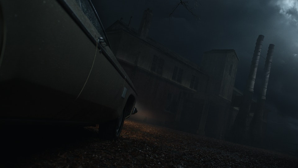 Ash vs Evil Dead 2 - Digital Matte Painting 01