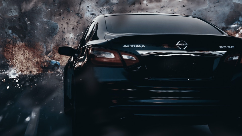 Nissan 'Angry Cloud'