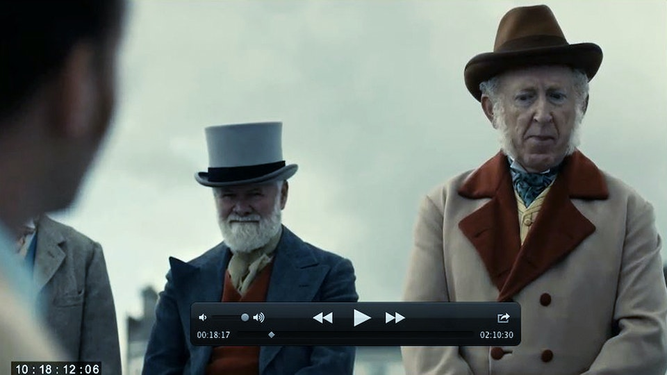 Ripper Street Series 4 & 5 - Plate 03 Lola Post Production