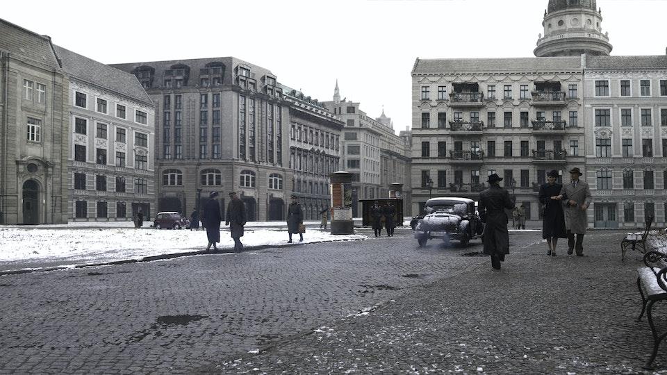 Alone in Berlin - Digital Matte Painting 03