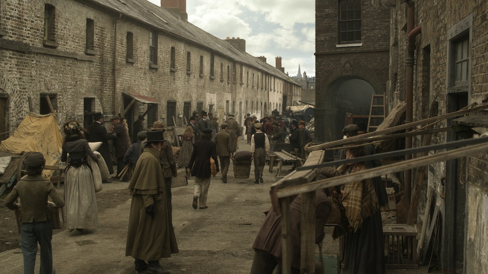Ripper Street Series 4 & 5 - Digital Matte Painting 01 Lola Post Production