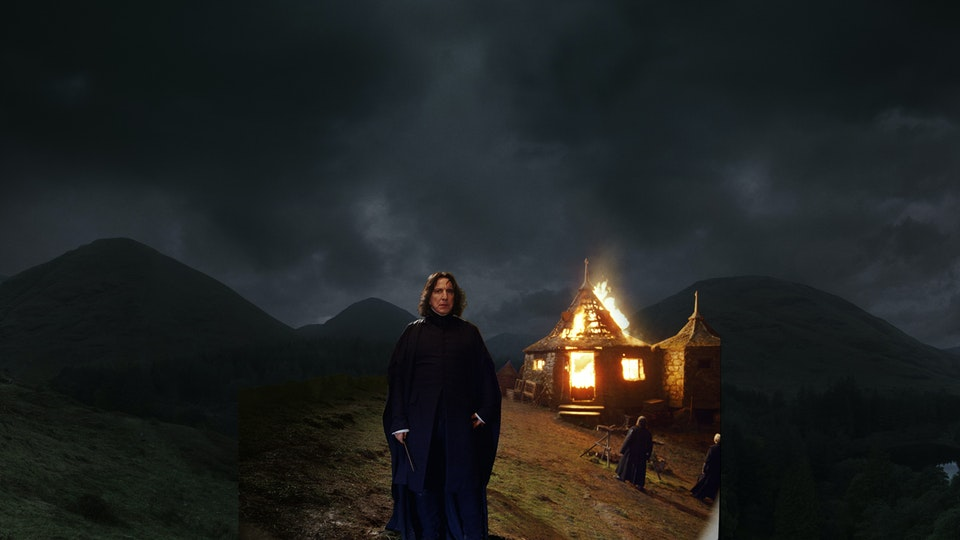 Harry Potter and the Half-blood Prince - Digital Matte Painting