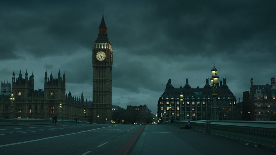 DAVID JONES - NOW IT FEELS LIKE CHRISTMAS - Digital Matte Painting 01