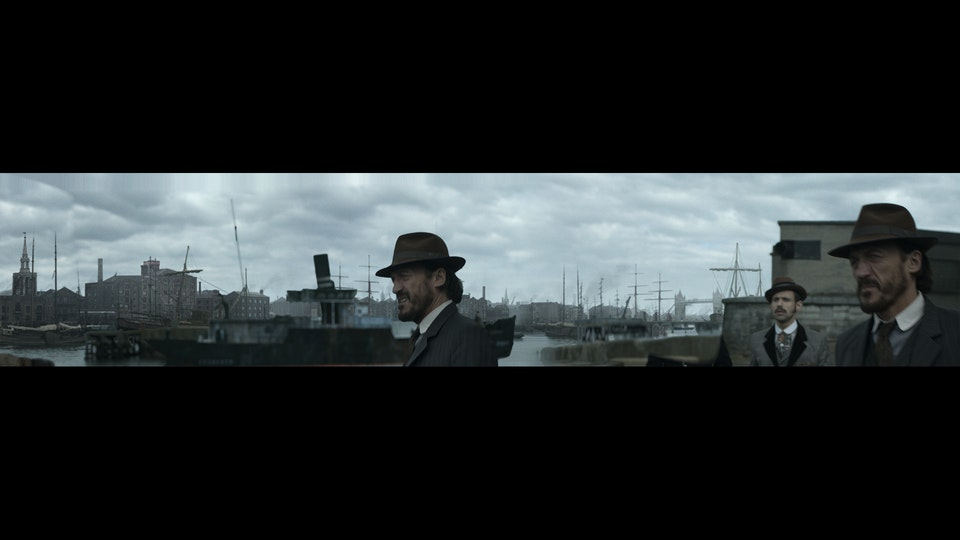 Ripper Street Series 4 & 5 - Digital Matte Painting 05 Lola Post Production
