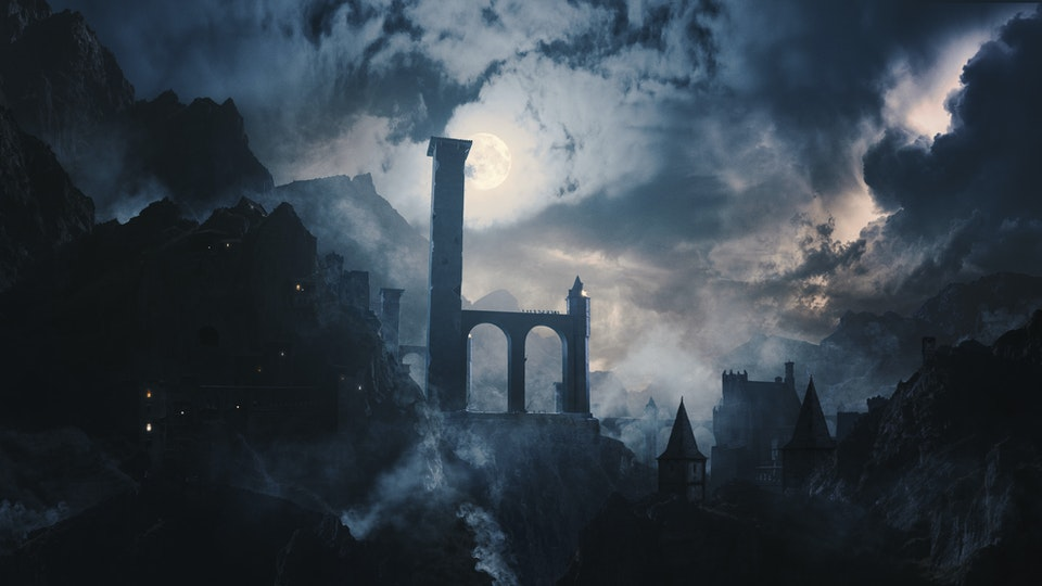 VERMINTIDE 2 - Digital Matte Painting