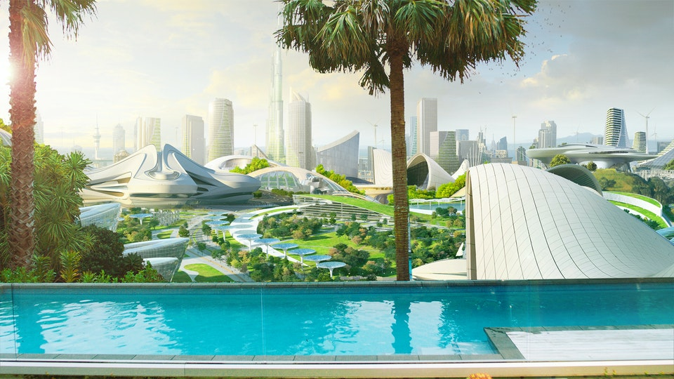 Meridian - Concept for futuristic city