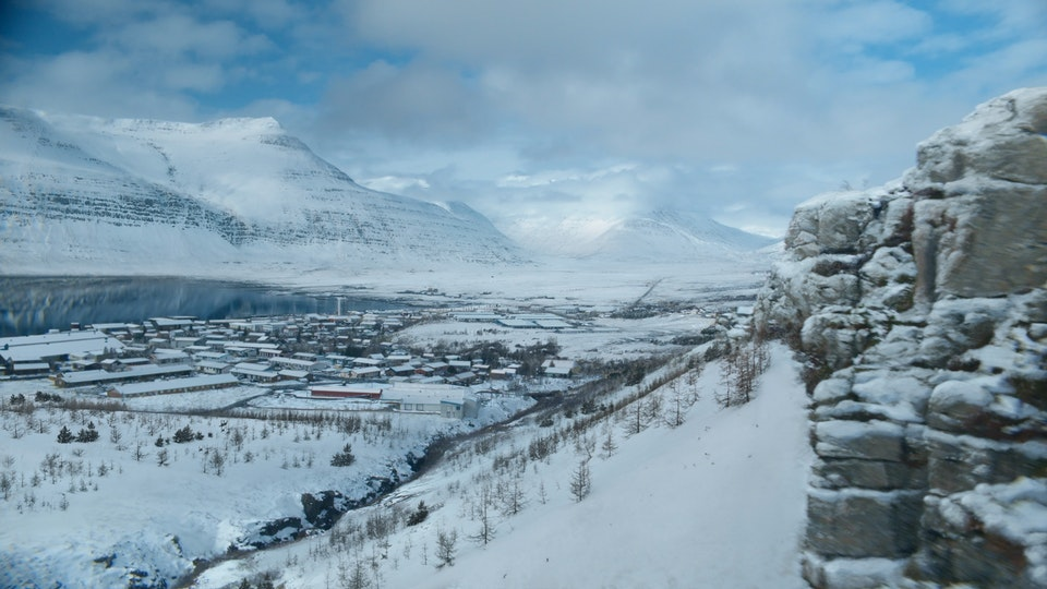 FORTITUDE SEASON 2 - Digital Matte Painting 02 Lola Post Production