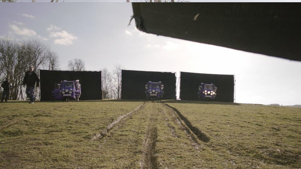 Cadbury 'Vans'