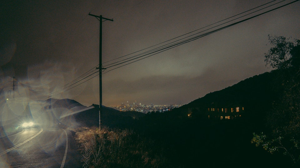 Mulholland Drive, Los Angeles, USA