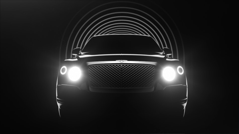 Bentley - SUV Teaser I