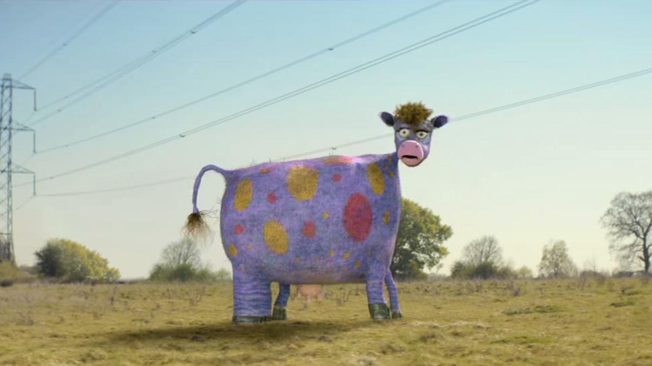 McDonalds Cow -