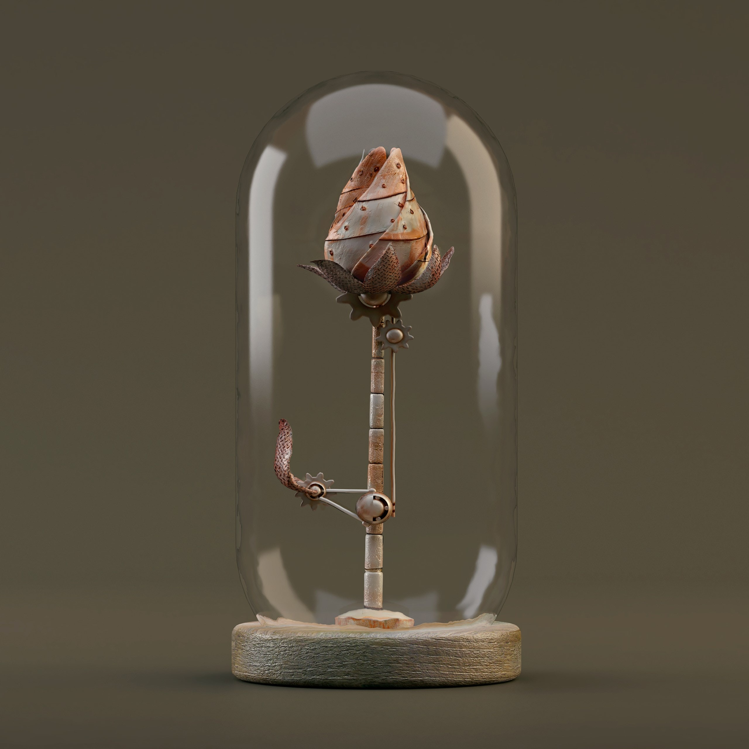 Rosa Metalica