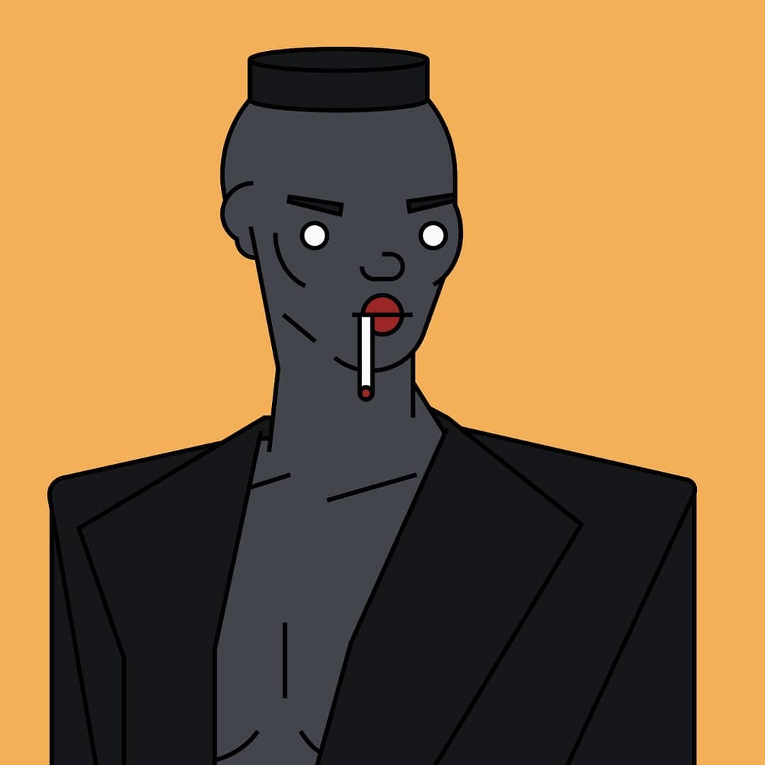 Grace Jones x Blood Bros.