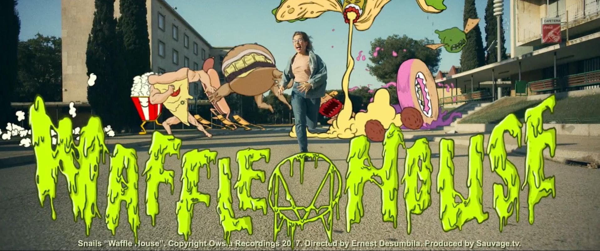 Snails - Waffle House. Edited by Lluis Murua