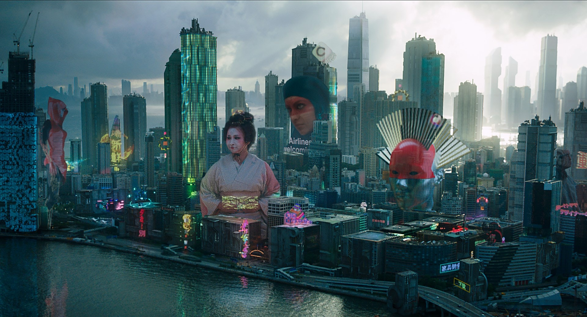 Ghost in the Shell – Courtesy of Paramount Pictures and Dreamworks Pictures and Territory Studio