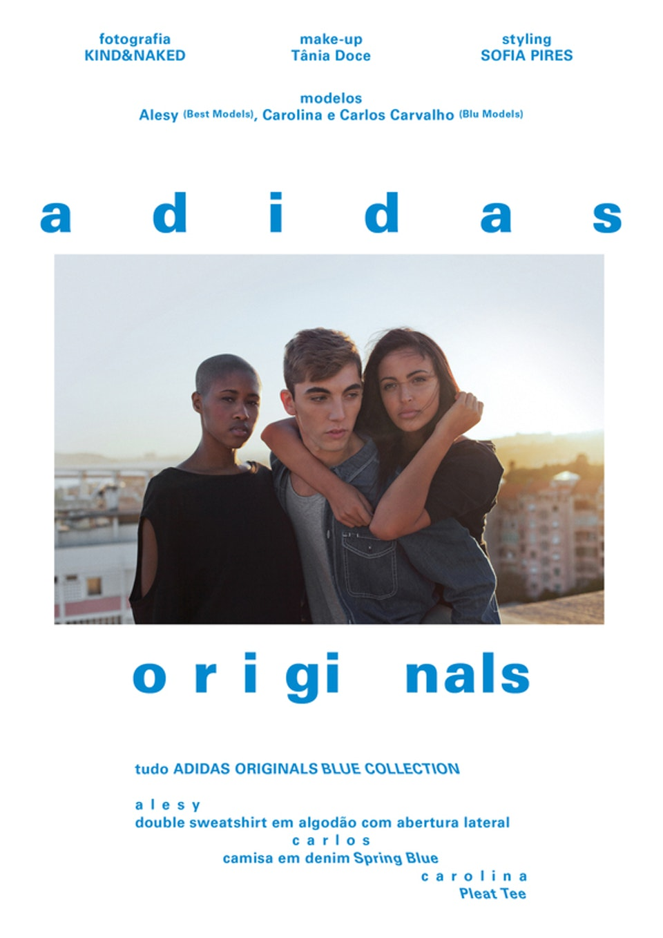 Adidas - Originals Blue Collection for Park Mag 56b625fda42564739ae42649fef2568d