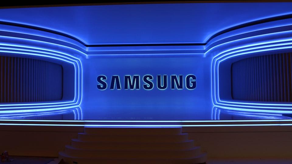 Samsung | Stage Build