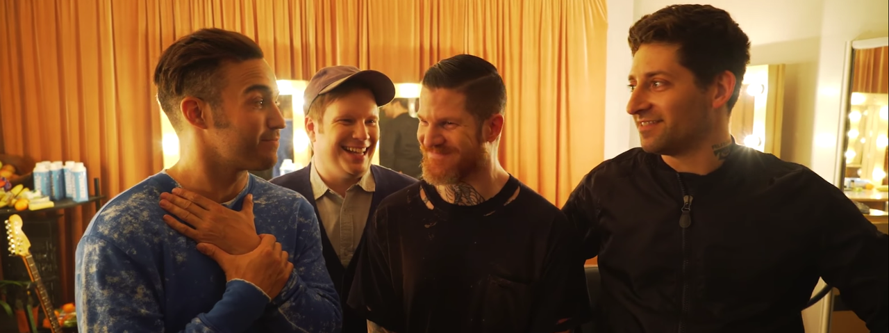 Fall Out Boy - Behind the Scenes