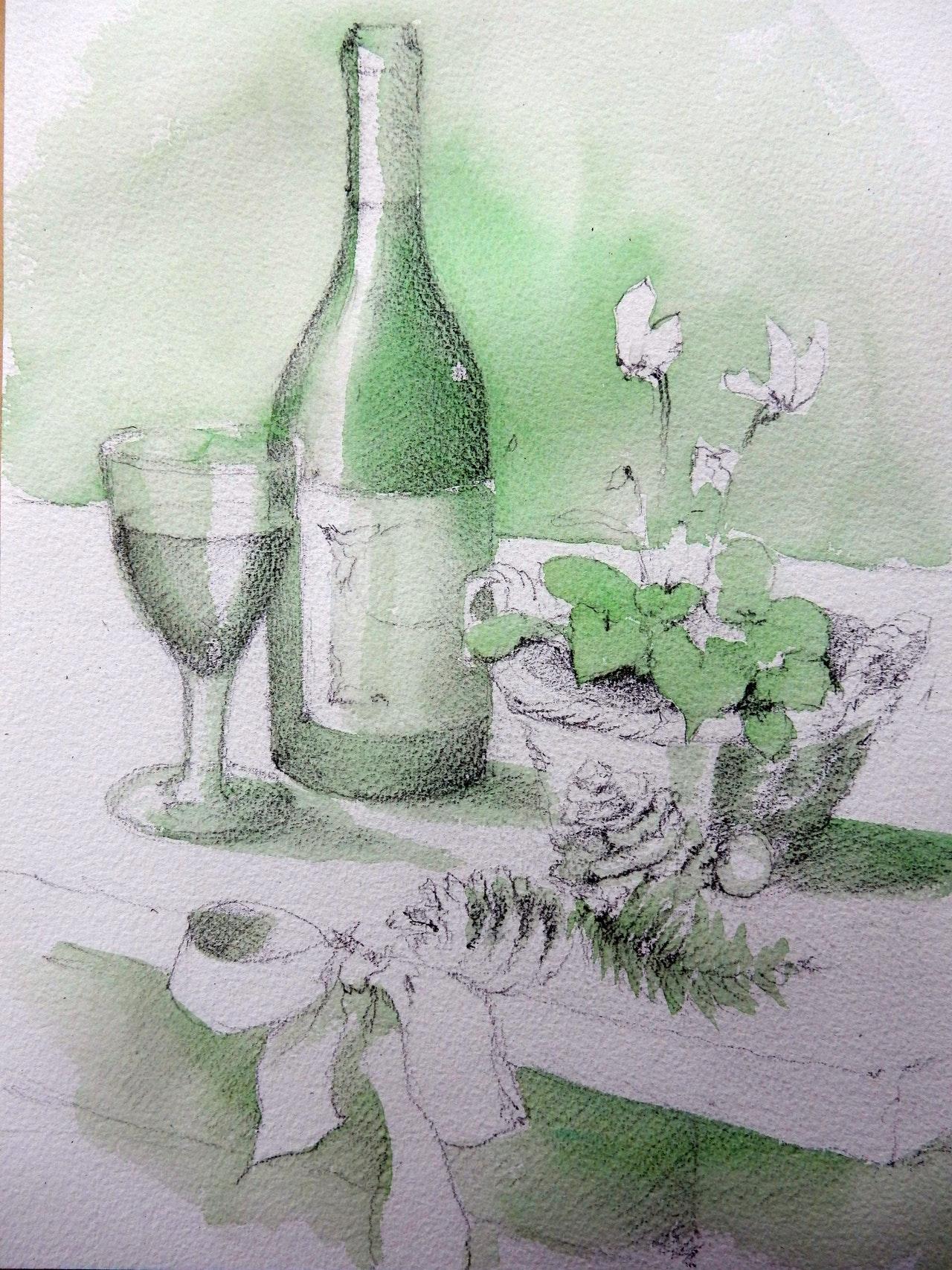 Lesson 3 Hookers Green underwash
