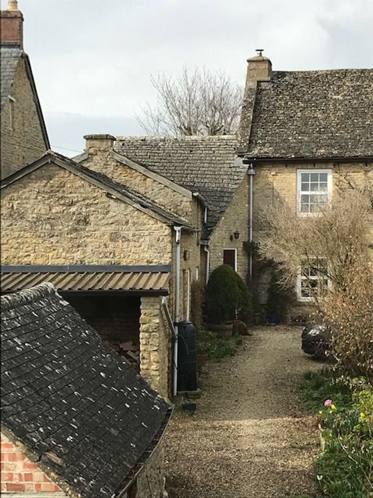 Week 10 perspective  - cotswold stone house