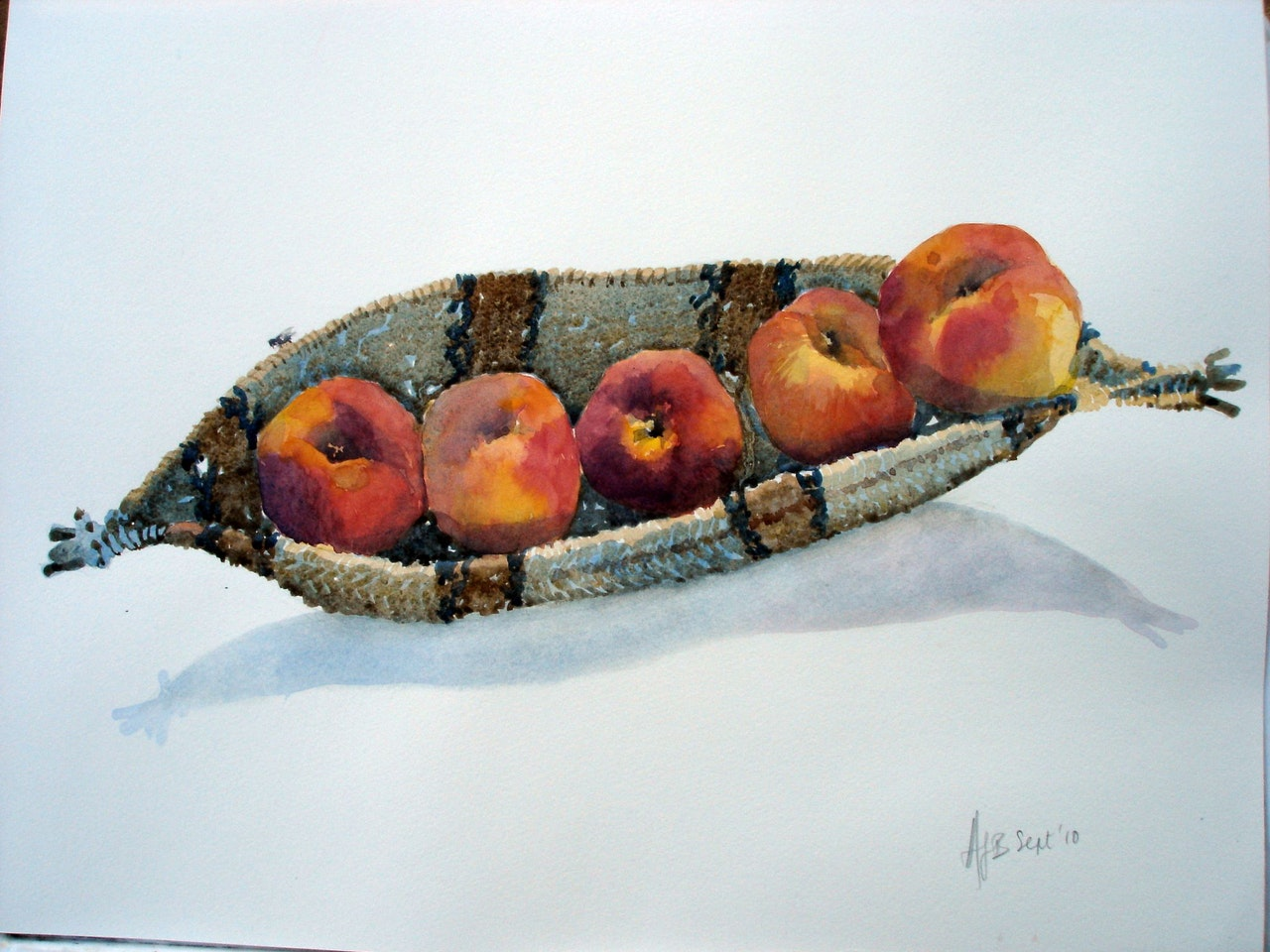 Fly on the peaches(sold Rita Moseley)