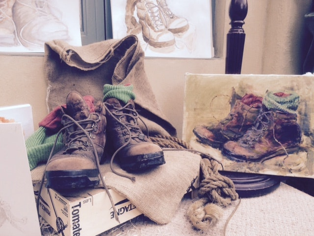 Still-Life Boots