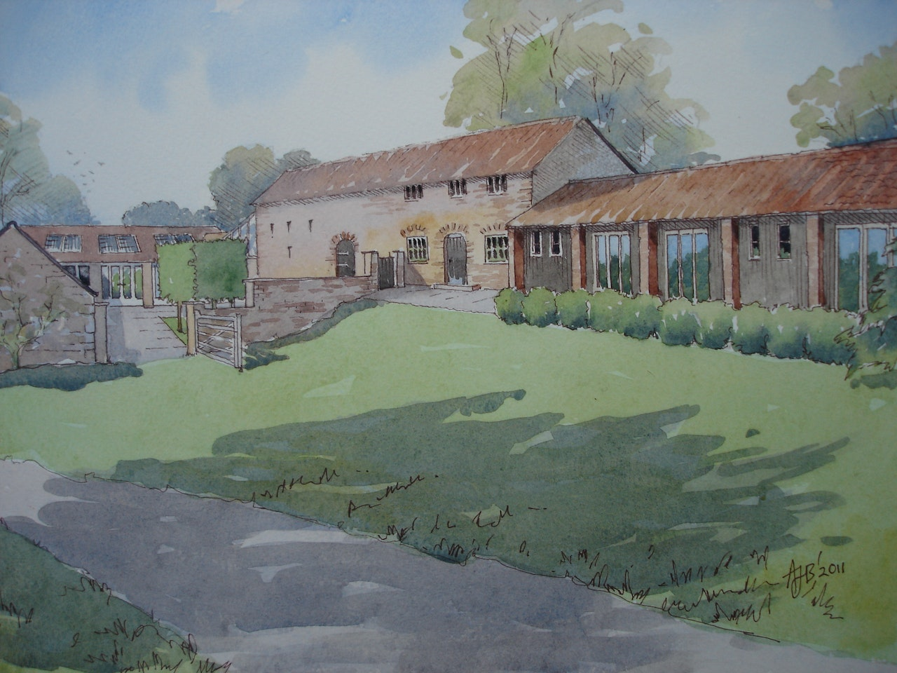 Artist Impression Marris Barn
