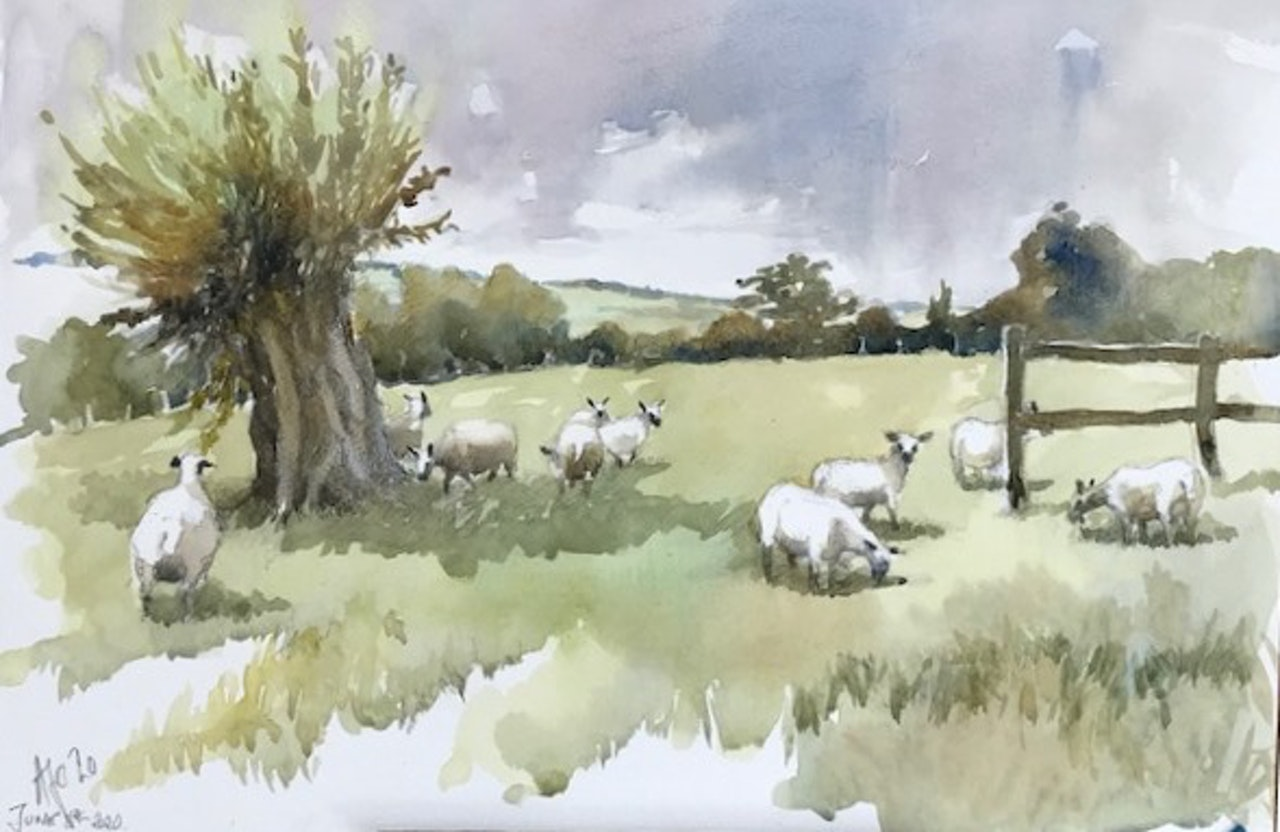 6 Lucy's sheep     £280
