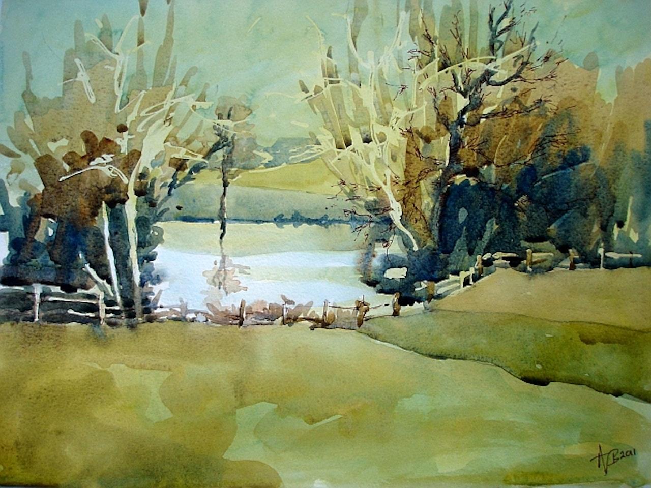 pond nr Glympton