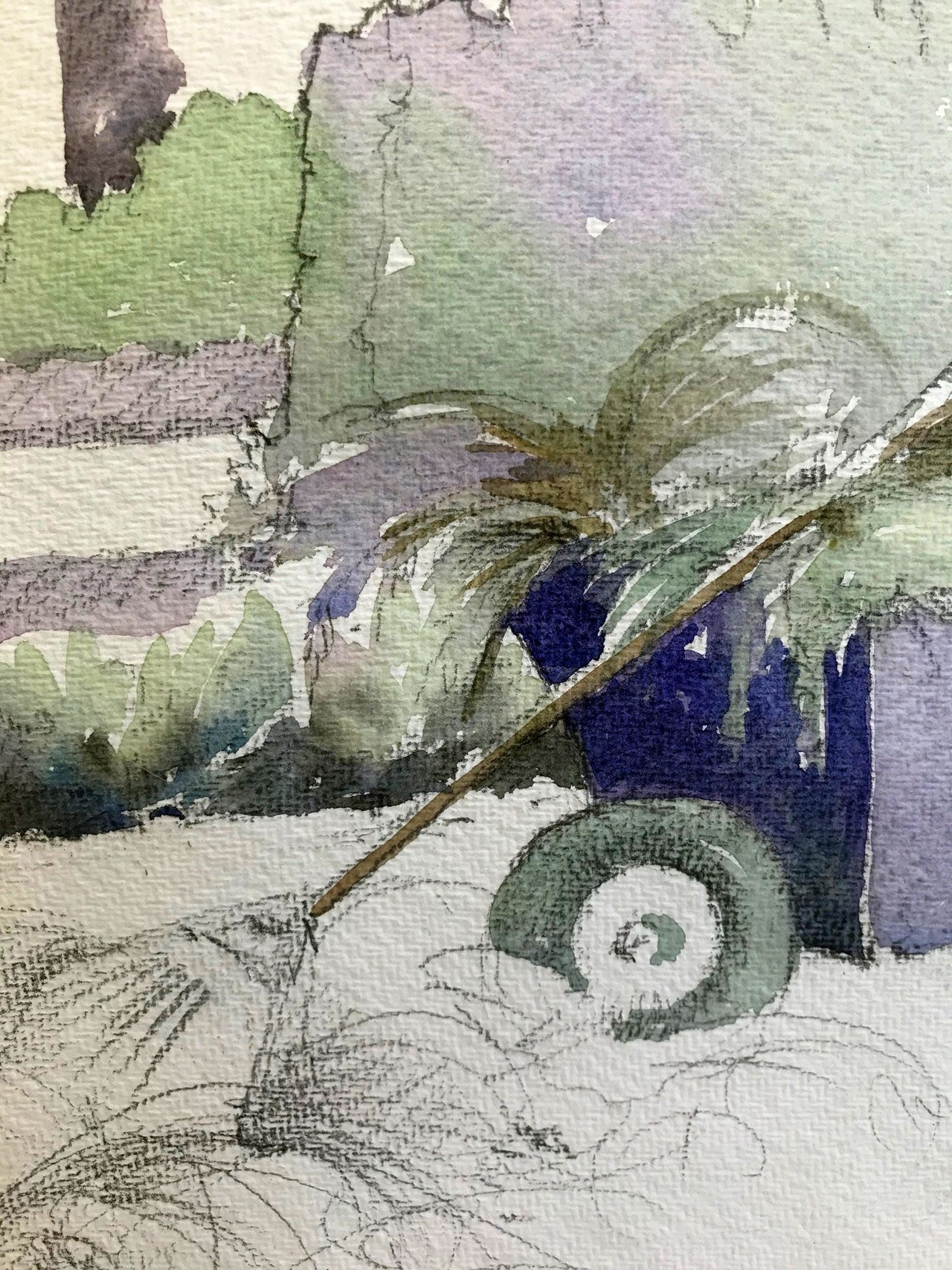 Lavender 2 detail