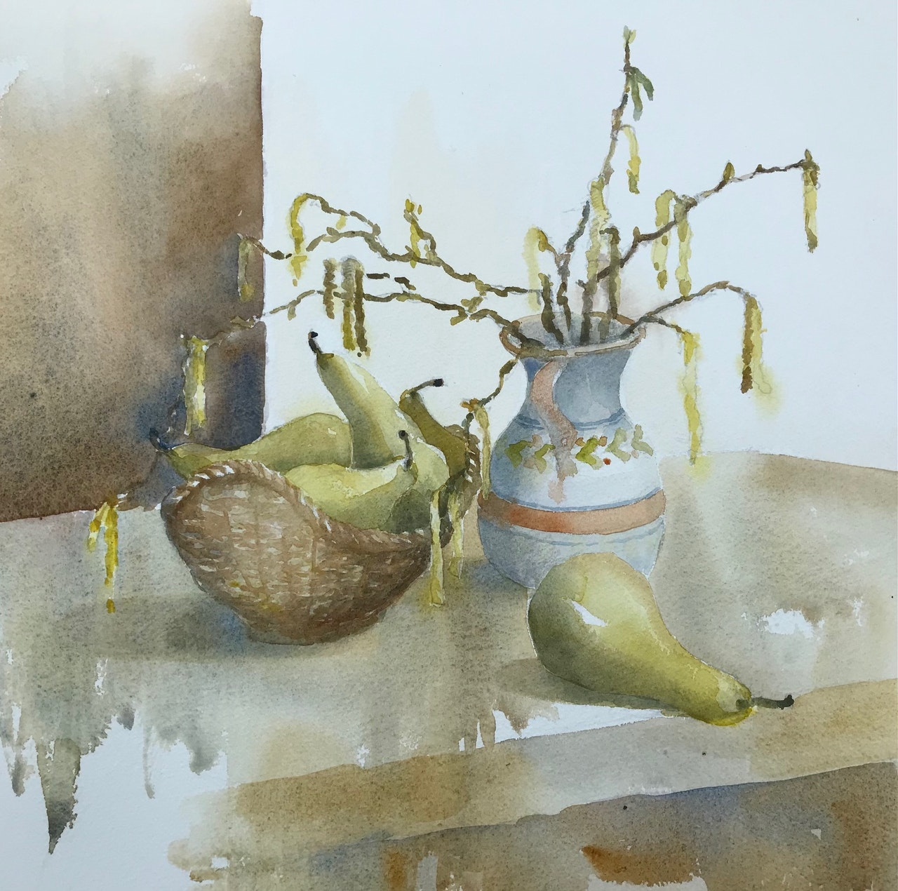 JJ5 catkins and pears, finished!