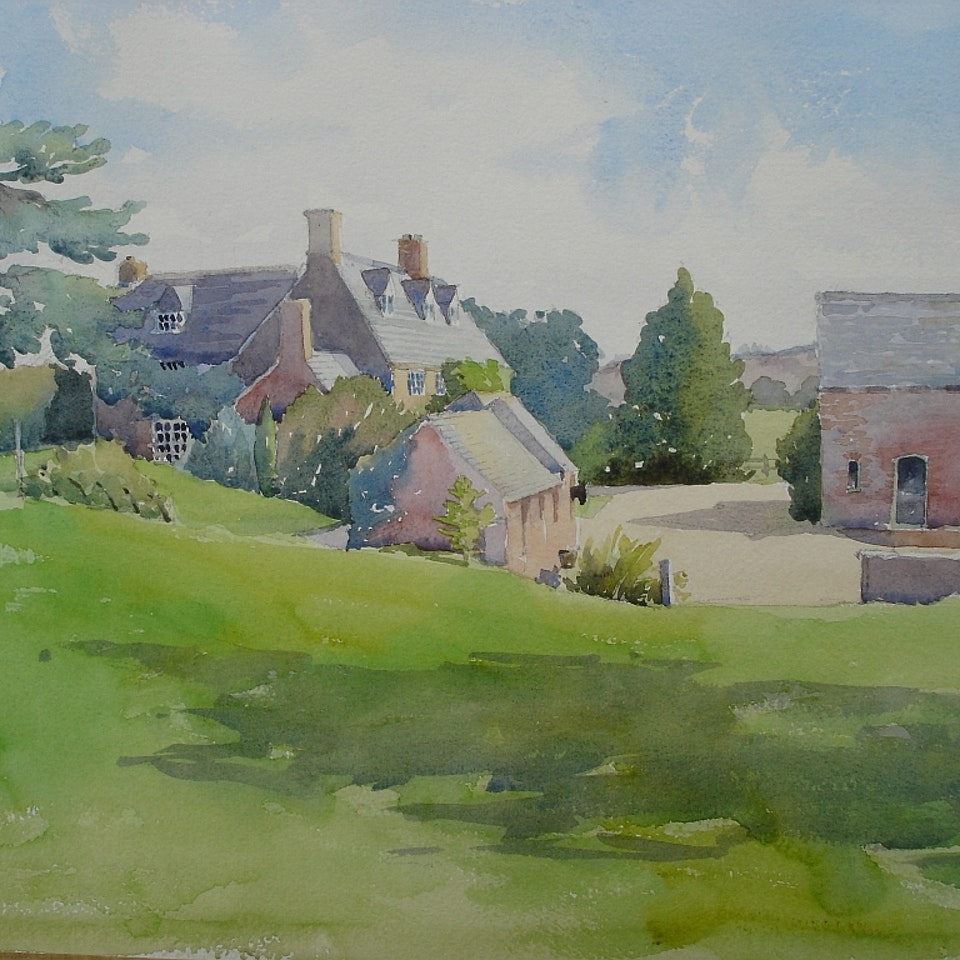 Nothing says home like an original painting...or drawing. High Furze 2011 - emailer