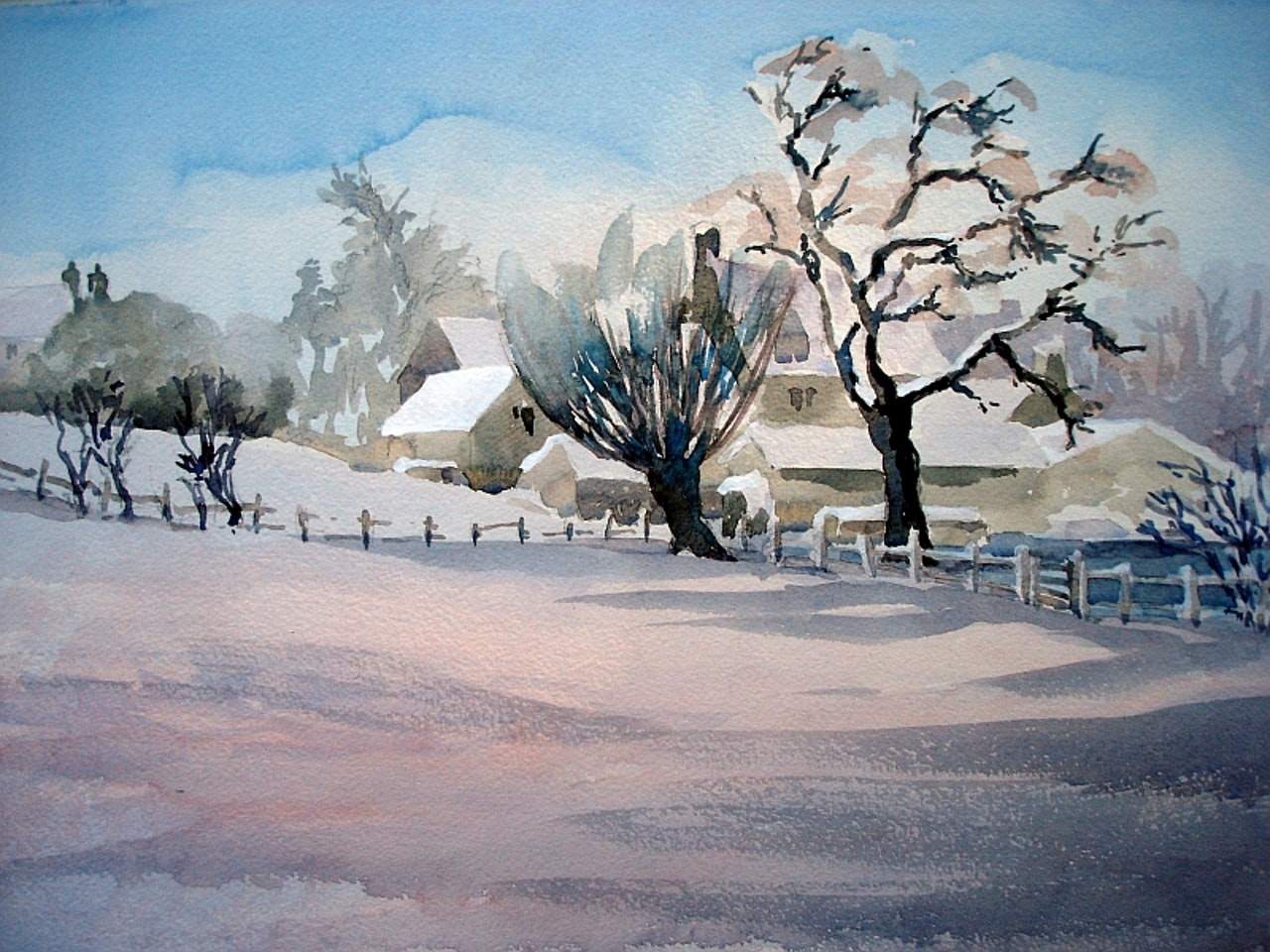 snow in Chilson 2011(sold Lyndsay W)
