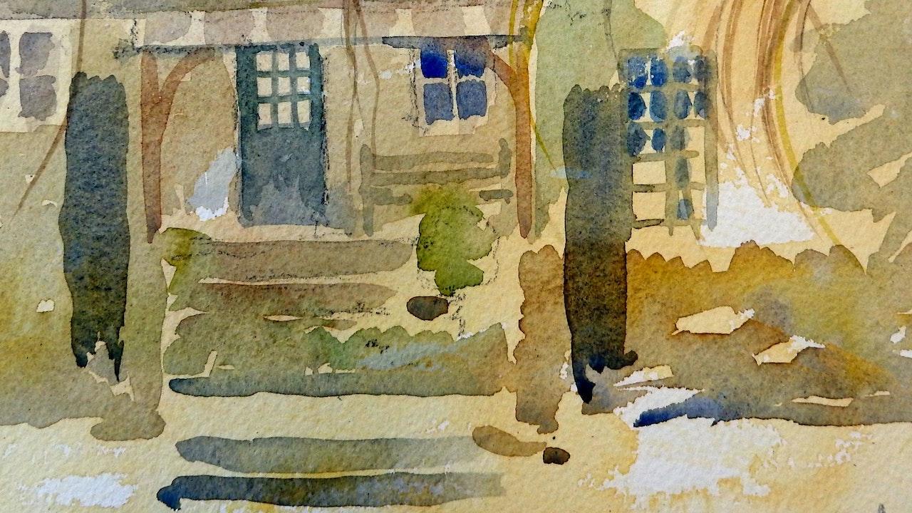 A watercolour year in a Garden