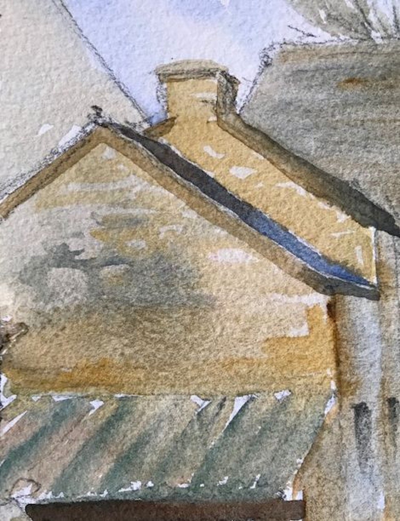 Week 10 perspective  - cotswold stone