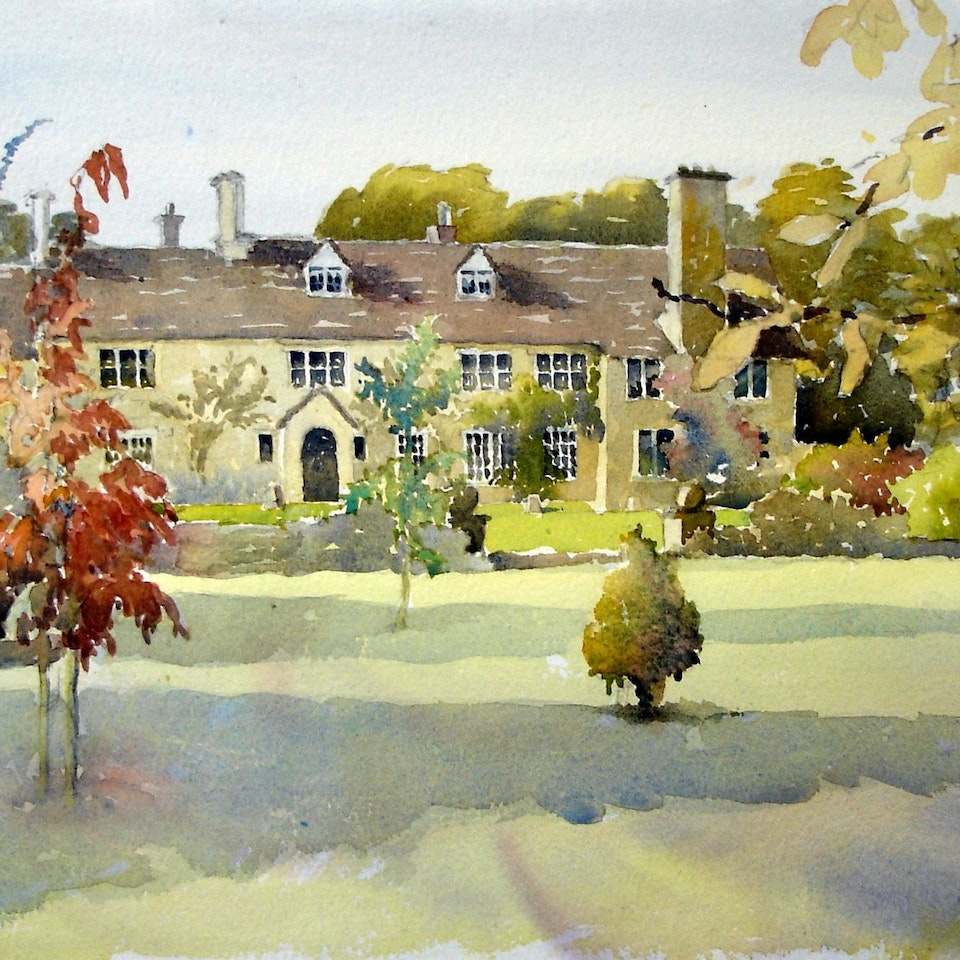 Houses & Artists Impressions Foxley watercolour edit