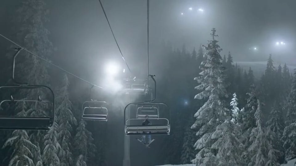 Vattenfall 'Skiing'