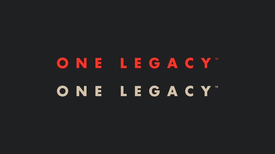 One Legacy Sports Mgmt Extended Logo