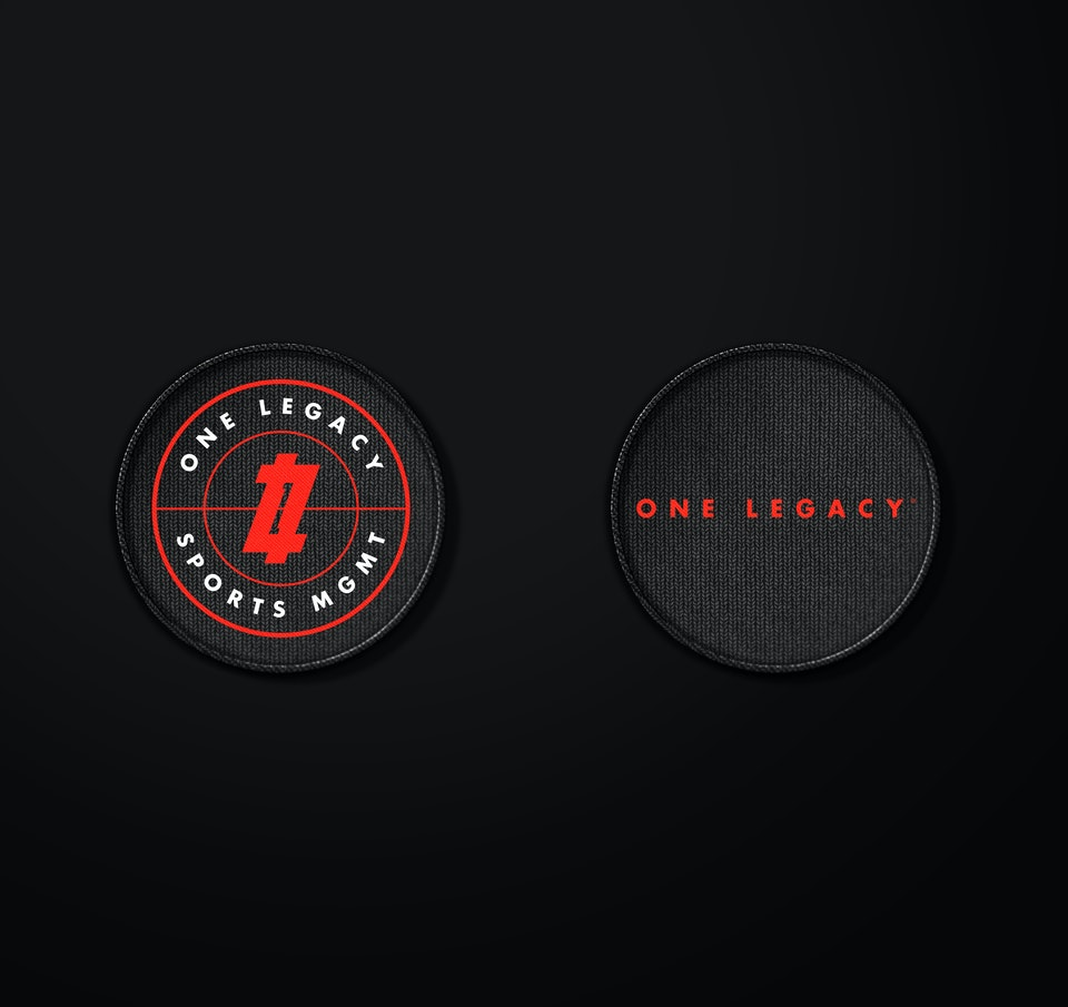 One Legacy Sports Mgmt Patches