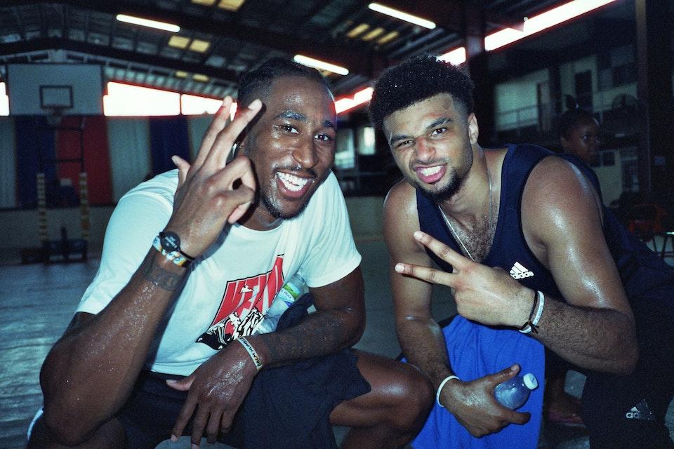 Jamal Murray X Adidas Basketball Bare Knuckle x Rondae_16