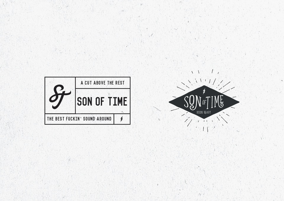Son of Time X Numbnut Motorcycles Stickers_3
