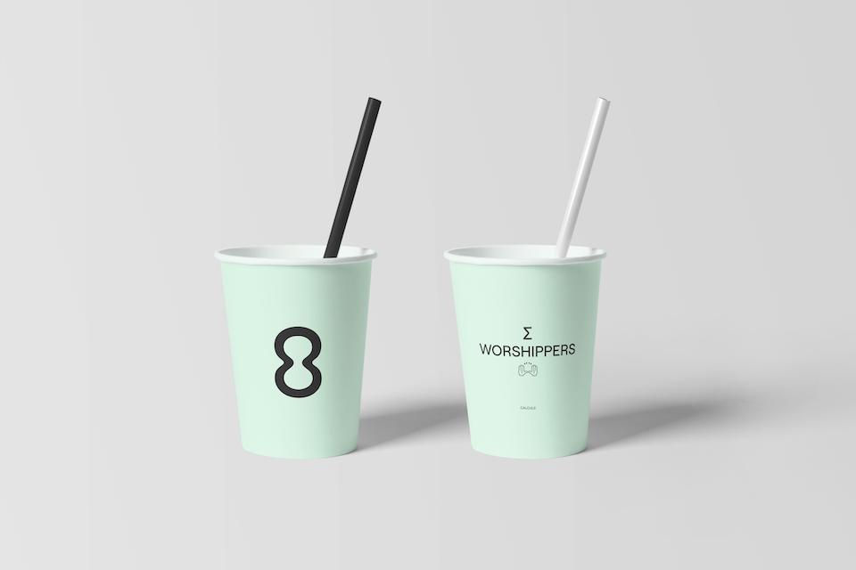 Calcul8 Paper Cup Mockups