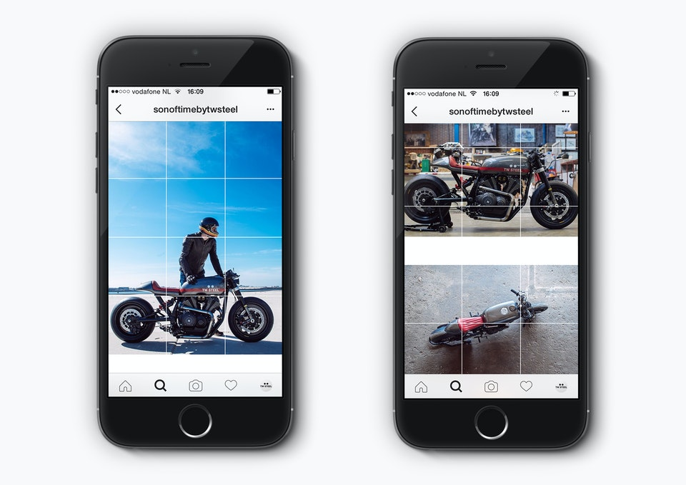 Son of Time X Numbnut Motorcycles iphone