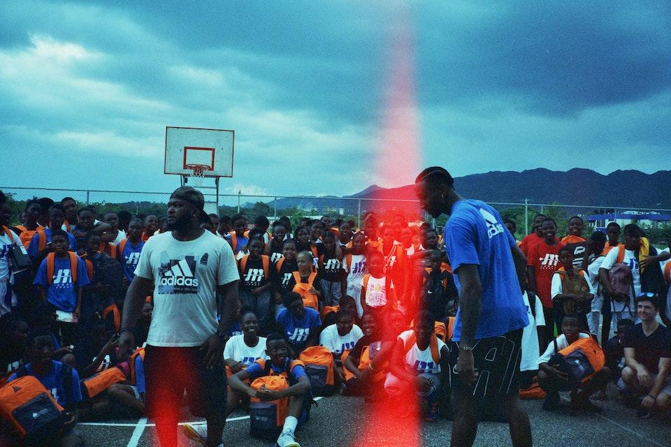 Jamal Murray X Adidas Basketball Bare Knuckle x Rondae_34