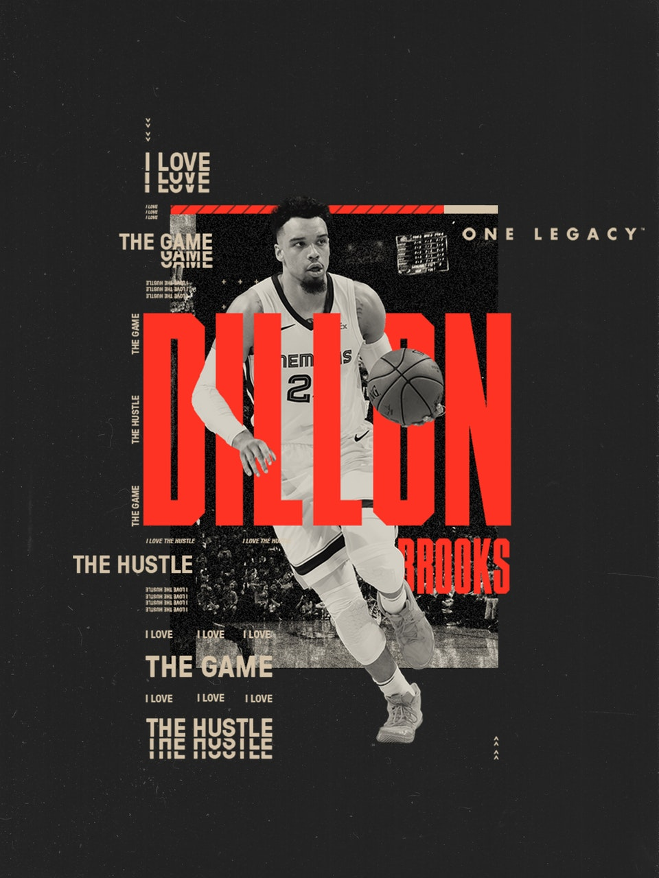 One Legacy Sports Mgmt dillon poster mockup