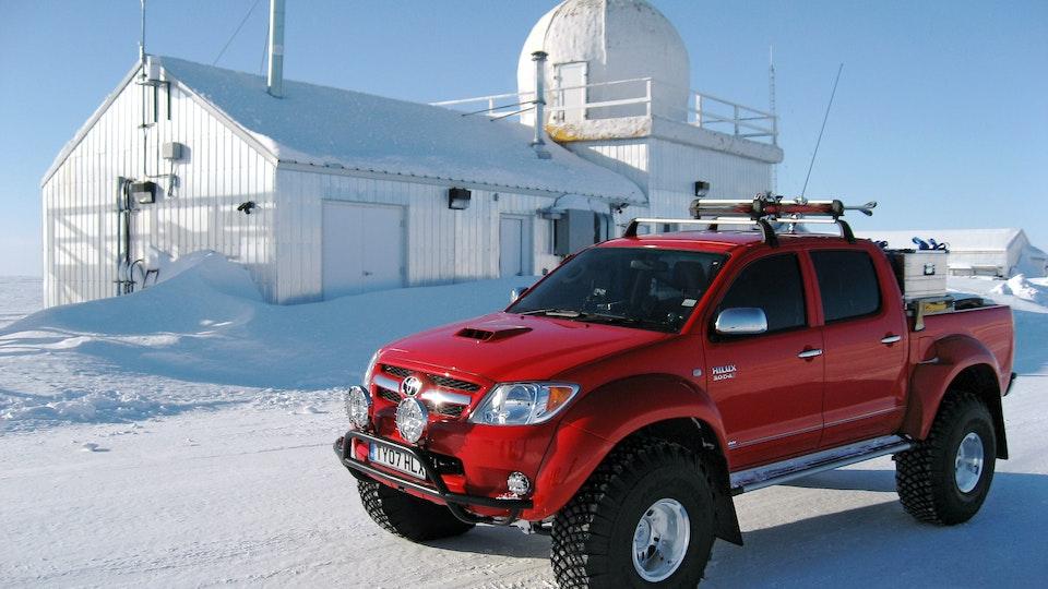 BEN JOINER ASC - Top Gear - Polar Special