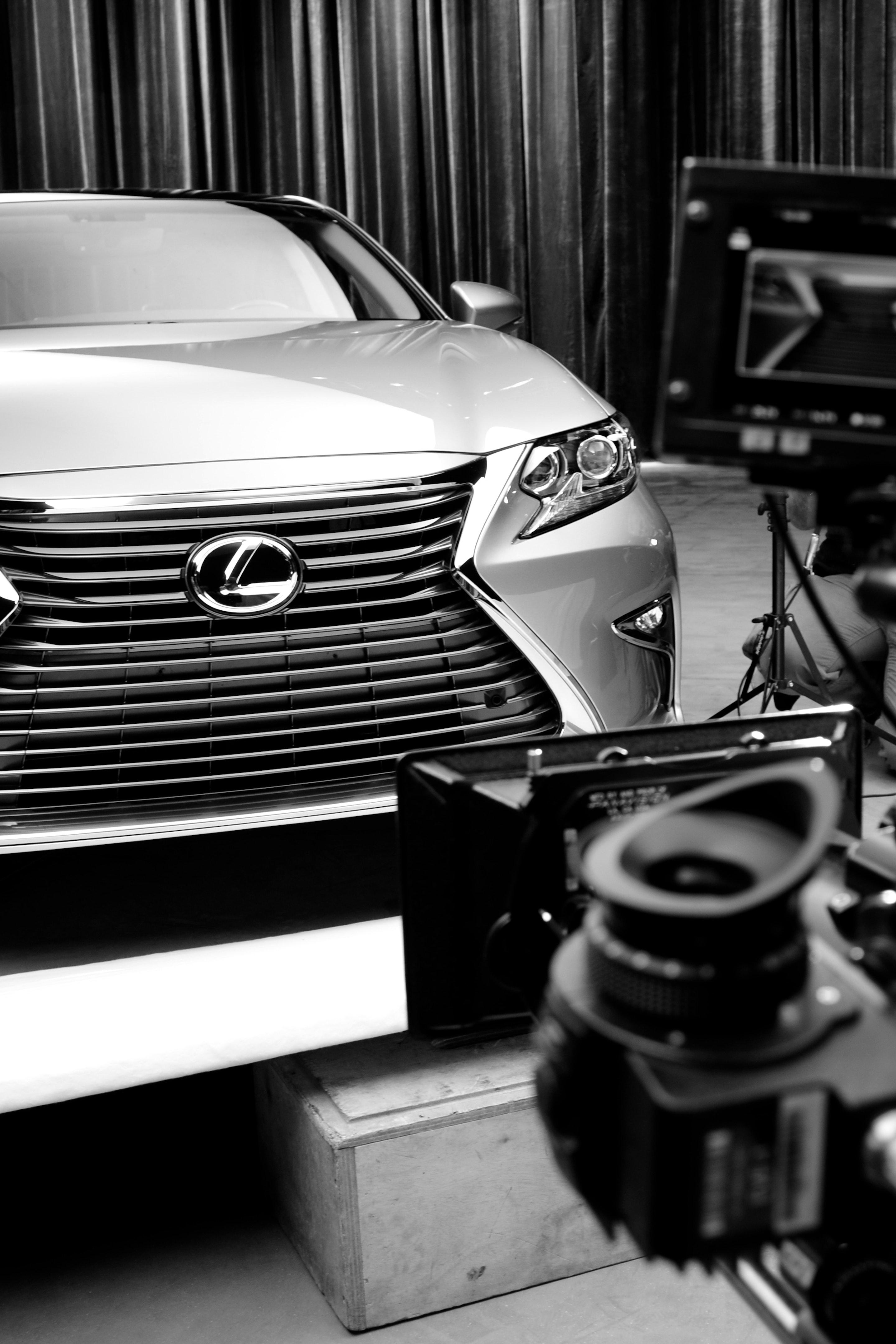 Lexus ES TVC Alexa XT  C Series Anamorphics